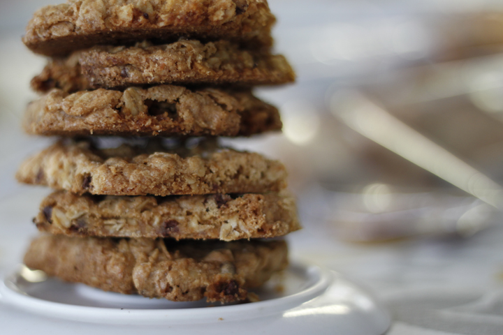 ... Baked Good) of the Week: Crispy Salted Oatmeal White Chocolate Cookies
